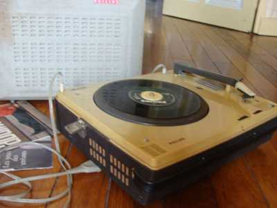 Ancien tourne disques valise Philips