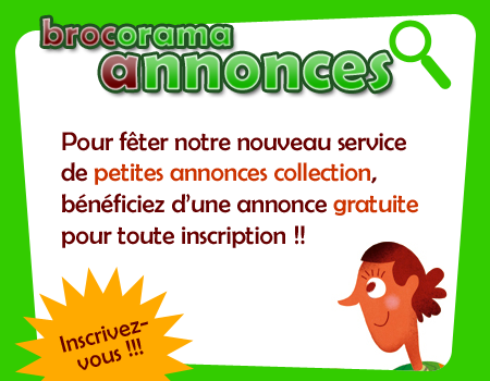 Inscription service petites annonces collection
